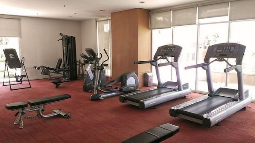 Gym fully air conditioned