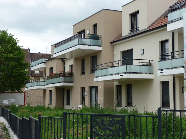 Pretty flat at 20 min from Strasbourg / wine route - Marlenheim - Apartment