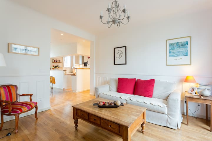Boulogne-Paris 5 rooms 92m² 6 pers - Boulogne-Billancourt - Apartment