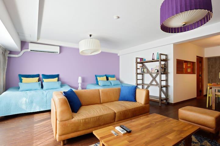 4 bedroom Apt in Shinsaibashi area - Osaka - Apartamento