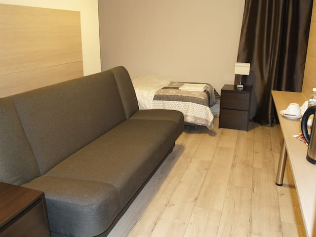 2 bed room with shared bathroom on corridor - Gdańsk - Apartment