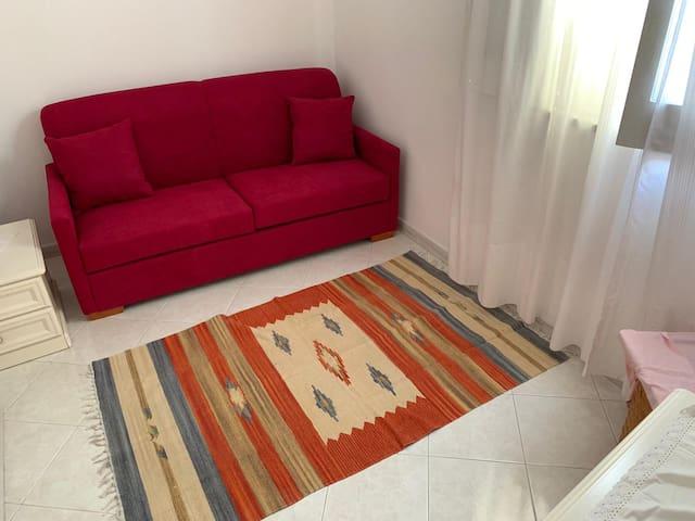Stanza ospiti (divano letto)