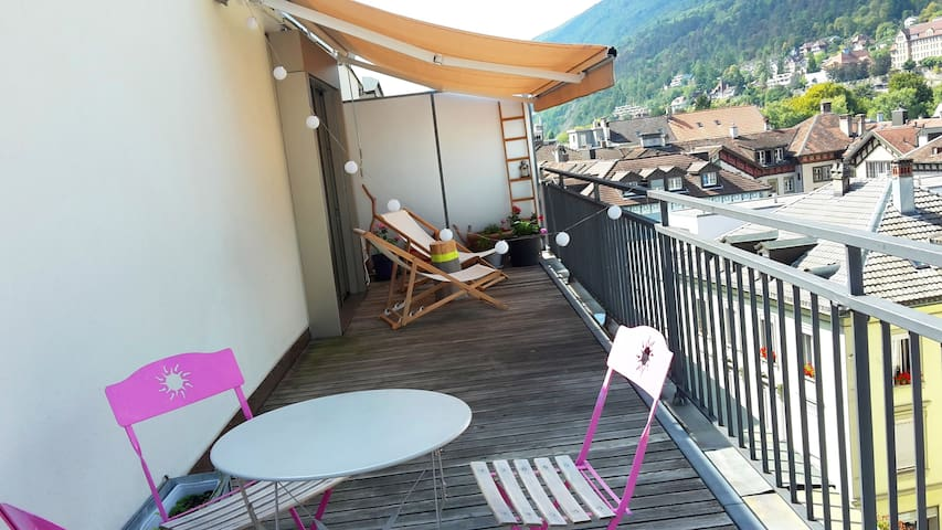 Charming flat in Biel city center - Biel/Bienne - 公寓