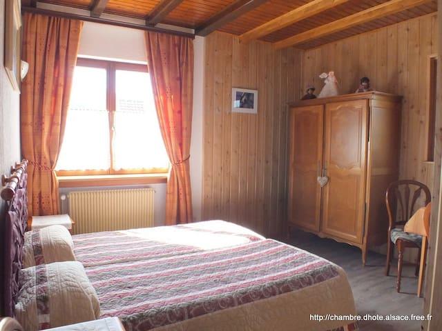 Chdhôte Danièle & Hervé, Abricotine - Soultzbach-les-Bains - Bed & Breakfast