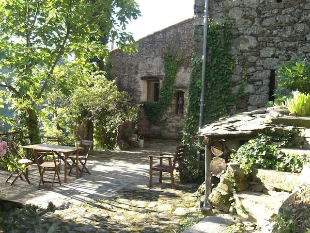 Belle maison Mas des Deux Mules en Cévennes - Saint-Roman-de-Codières - House