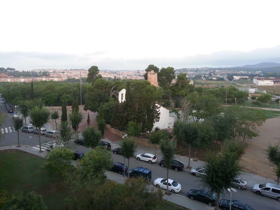 Vistas al Parque Torre d'Enveja