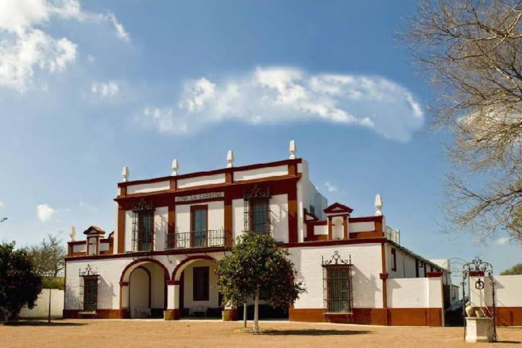 Casa rural finca la carre a villas en alquiler en jerez de la frontera c diz espa a - Alquiler casa jerez ...
