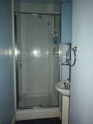 Ensuite shower room in unit one
