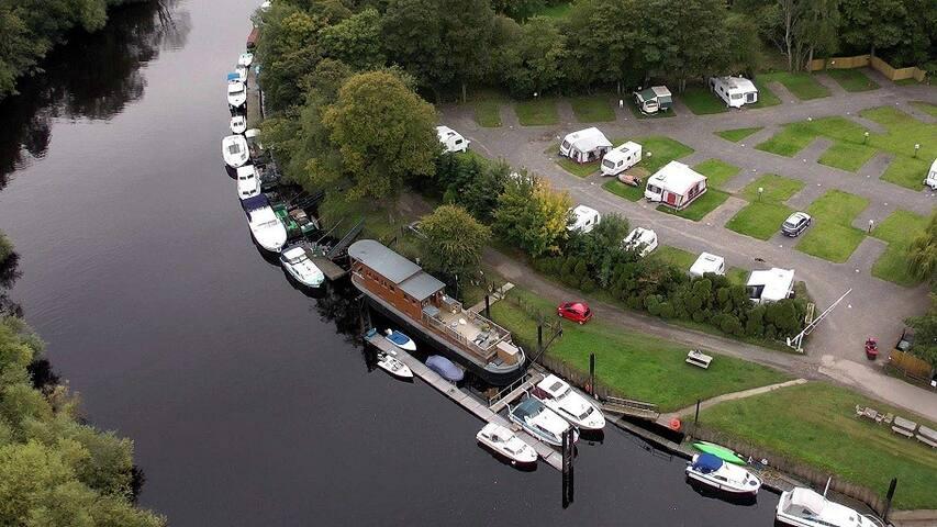 York HouseBoat Delightful Luxury-Ensuite Bathroom - Bishopthorpe - Boot