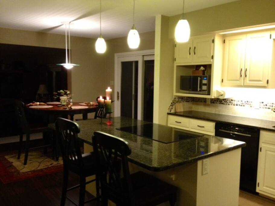 Enjoy meals in newly renovated kitchen!