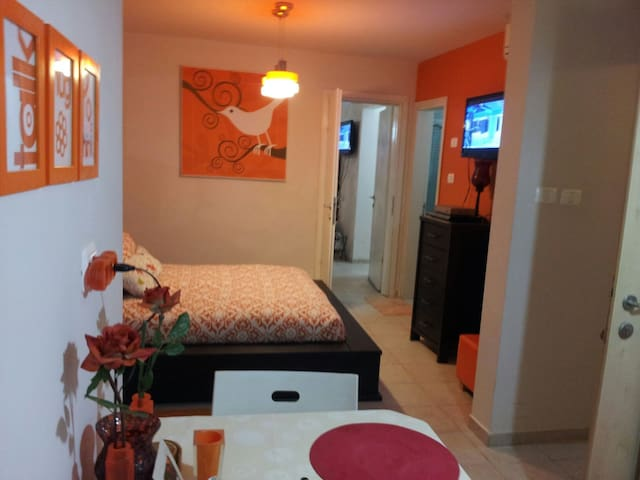 Orange unit is hosting 1 pair - Mitzpe Ramon - Apartment