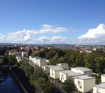 Chambre avec belle vue sur Reims - Apartment