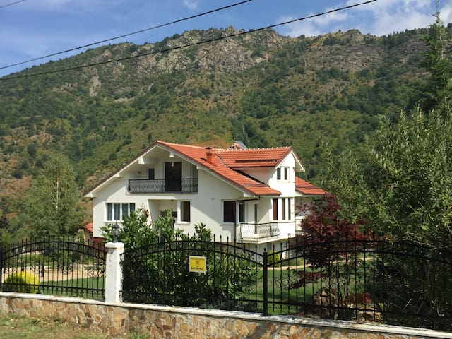 Luxury vila in Macedonian mountains - Bitola - Casa de campo