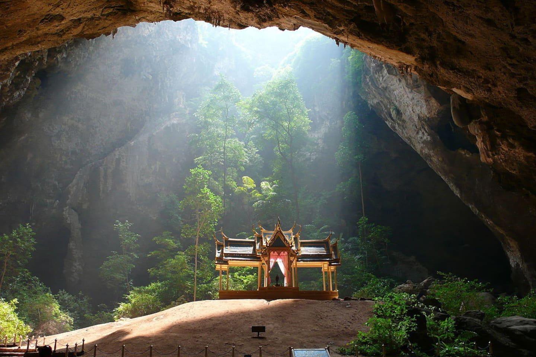 Prayah Nakhon Cave in Sam Roi yod national park.