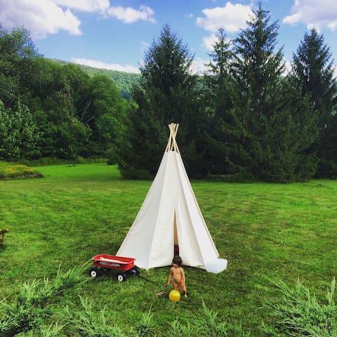 An Open Field &  Cozy Comforts - Denver - Casa