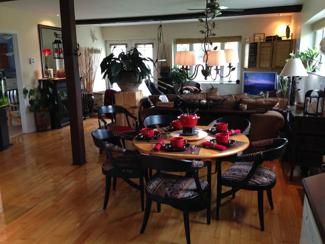 My country retreat (Business travellers ready) - Bromont - Apartament