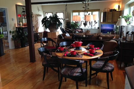 My country retreat (Business travellers ready) - Bromont - Byt