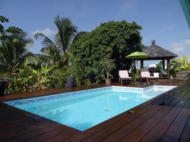 Villa zen Bali piscine privée