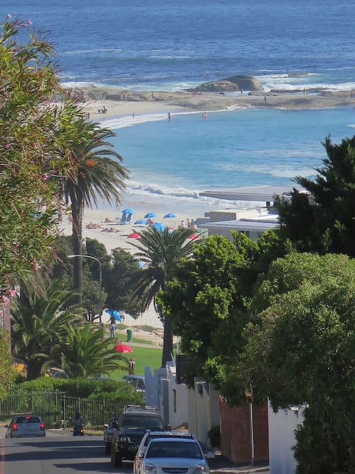 Just a few minutes walk to the Beaches, Restaurants, Shops and Taxis