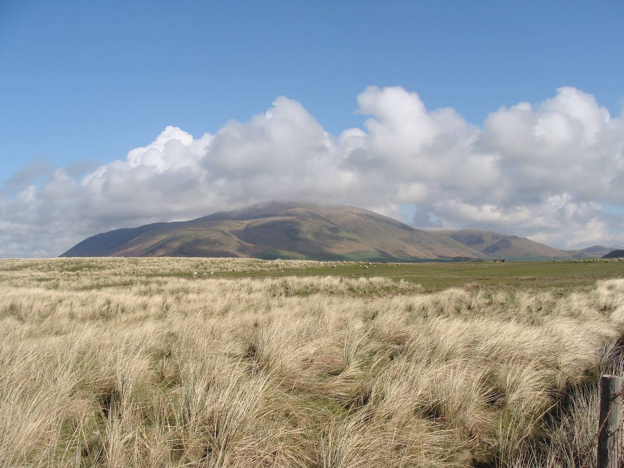 View of Black Combe nearby to Bank Springs Brewery