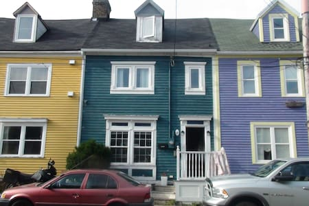 Vibrant downtown row house - St. John's