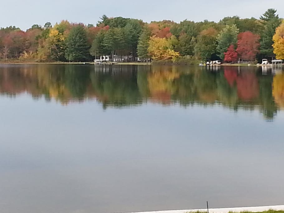 Fall view at Dutch's Place