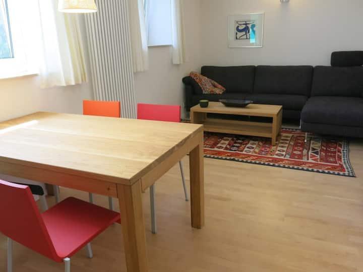 Ruhiges + zentrales 2 Zi-Apartment