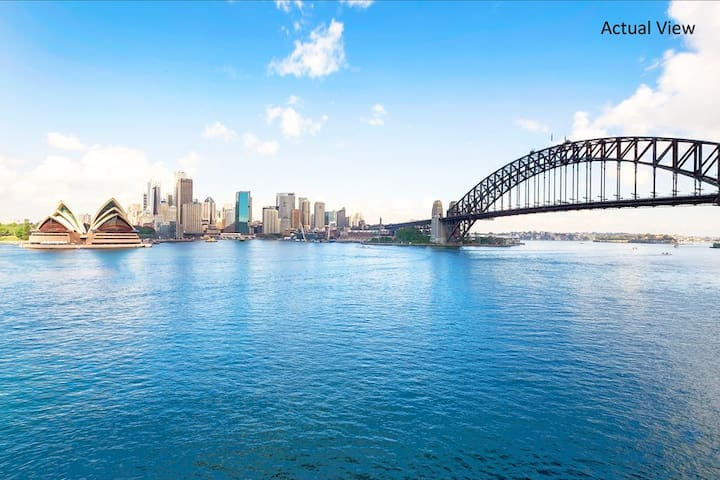 Panoramic Harbour Views & Cosy Room - Kirribilli - Appartamento