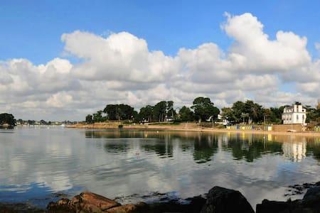 Le Drehen - Île-aux-Moines - 別荘