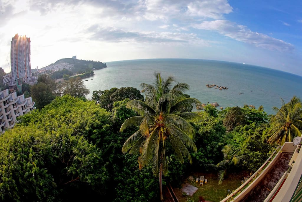 View from balcony, overseas Andaman Sea