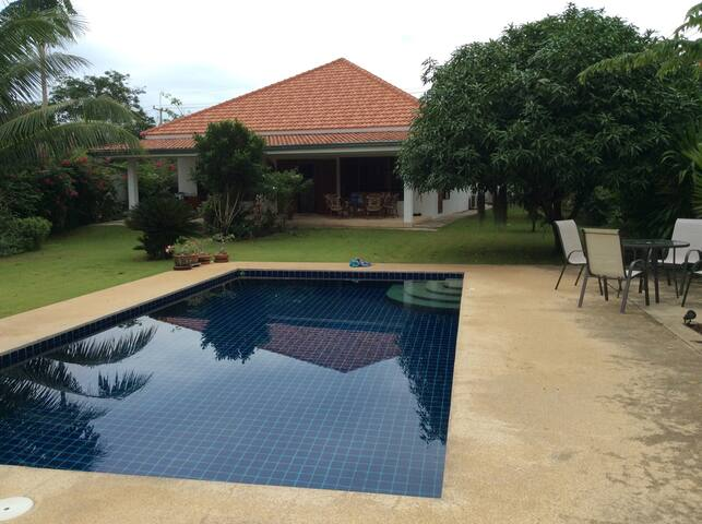 House in contryside, quiet place. - Hua Hin - Casa