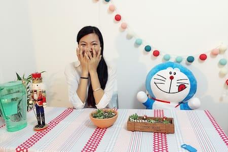 成都花生禅茶主题青年旅舍Peanut Houstel(可容纳4人) - Chengdu Shi - Loft