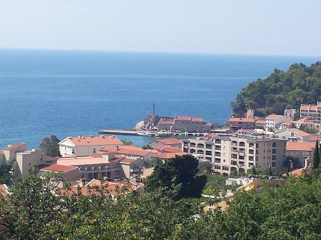 Fresh air, quiet, wonderful view - Petrovac - Apartment