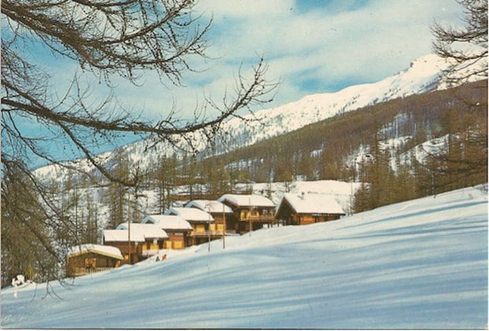 Wooden cottage in the Alps - Sansicario Torinese - Casa de campo