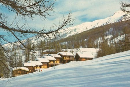 Wooden cottage in the Alps - Sansicario Torinese - Sommerhus/hytte