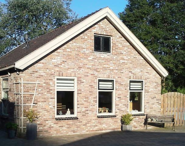 Een Landelijk gelegen Vakantiehuis  / B&B - Steggerda - Daire