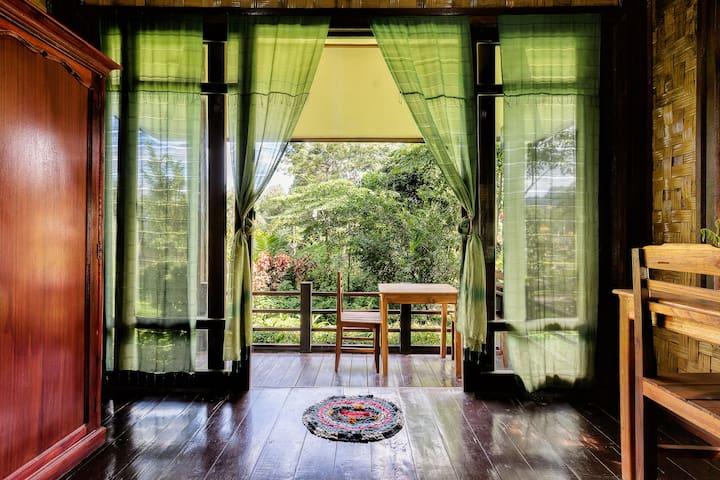 Lao Valhalla Bungalows & Restaurant - Vang Vieng - Bangalô