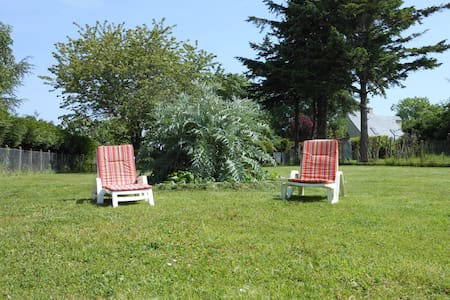Maison de vacances avec immense jardin - Bréville-sur-Mer - Casa