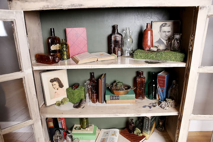 Very cool apothecary cabinet