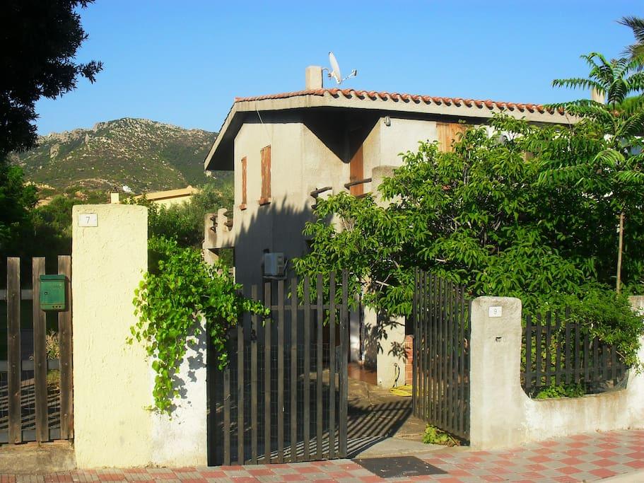 ingresso della villetta