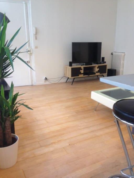 TV Plasma + Home cinéma