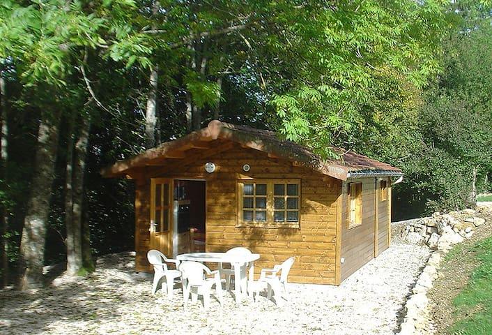 GITE LES SOURCES PETIT CHALET 2P+BB - Saint Julien en Vercors - Lomamökki