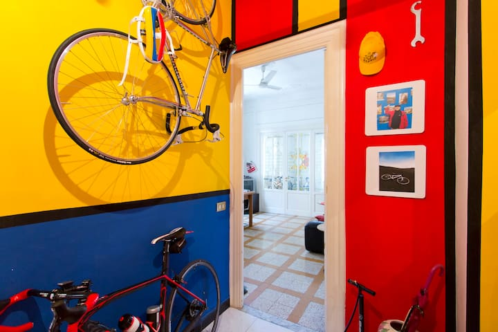 A casa di Tata the bike house