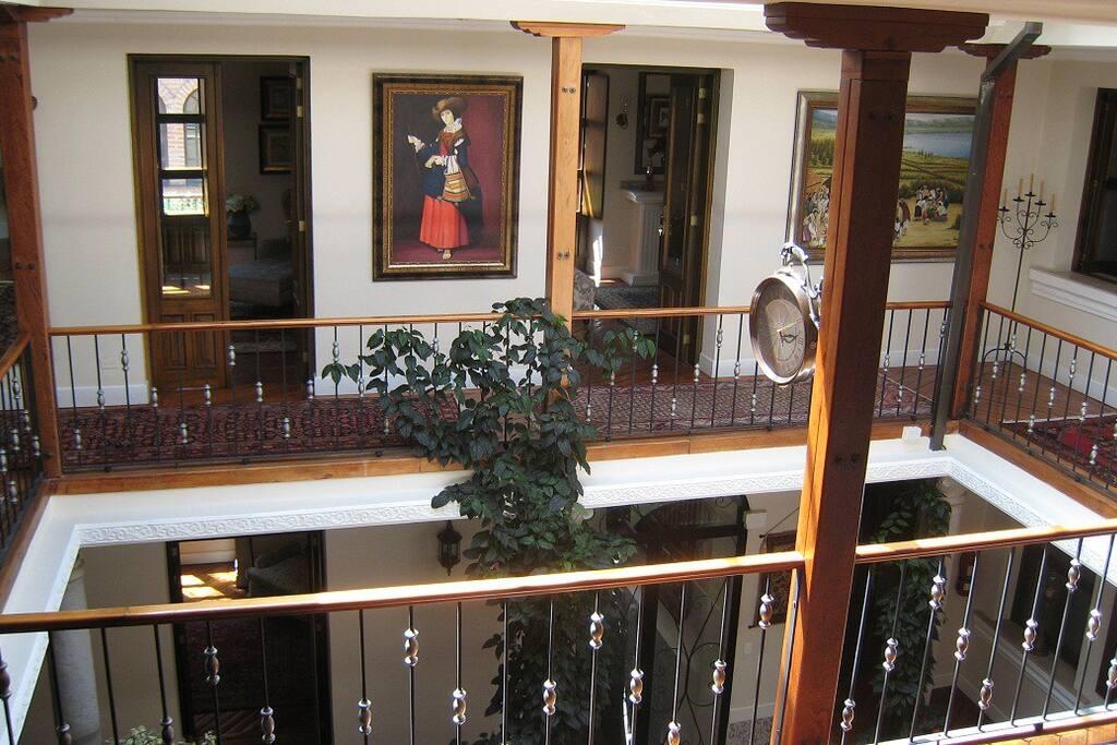 Upper Corridors 2nd Floor