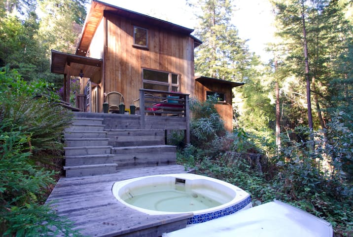 Redwood Retreat w/Private Entrance - Occidental - Huis