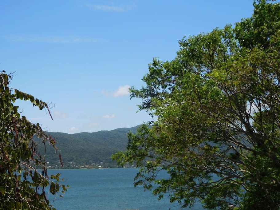 View of Lagoa da Conceição.