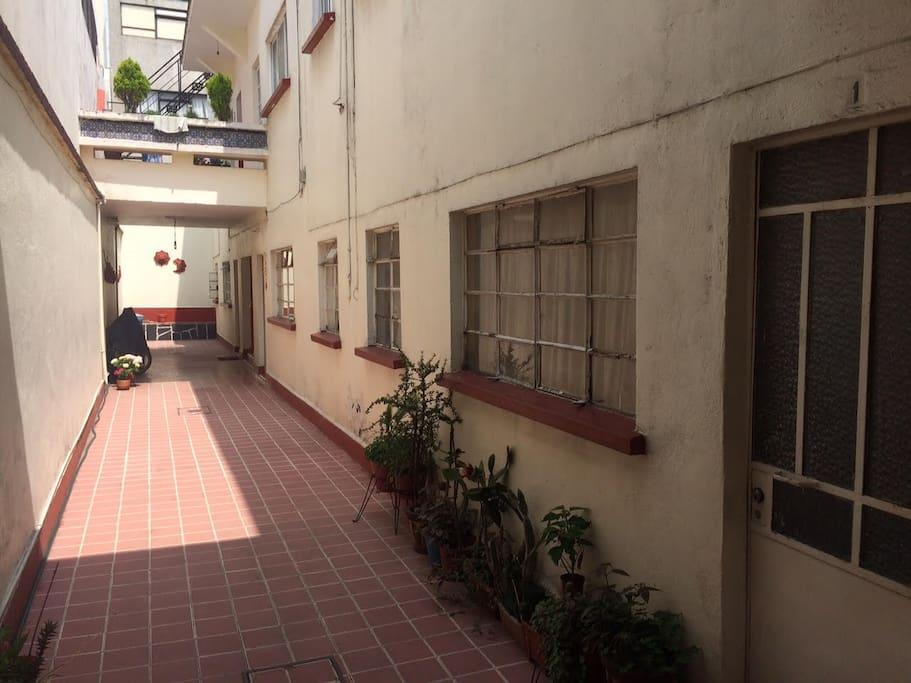 Este es el exterior del departamento.