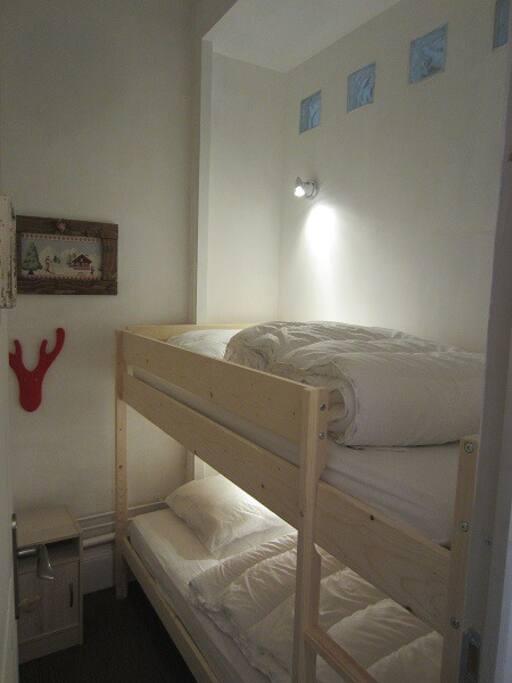 chambre pour accueillir enfants ou amis.