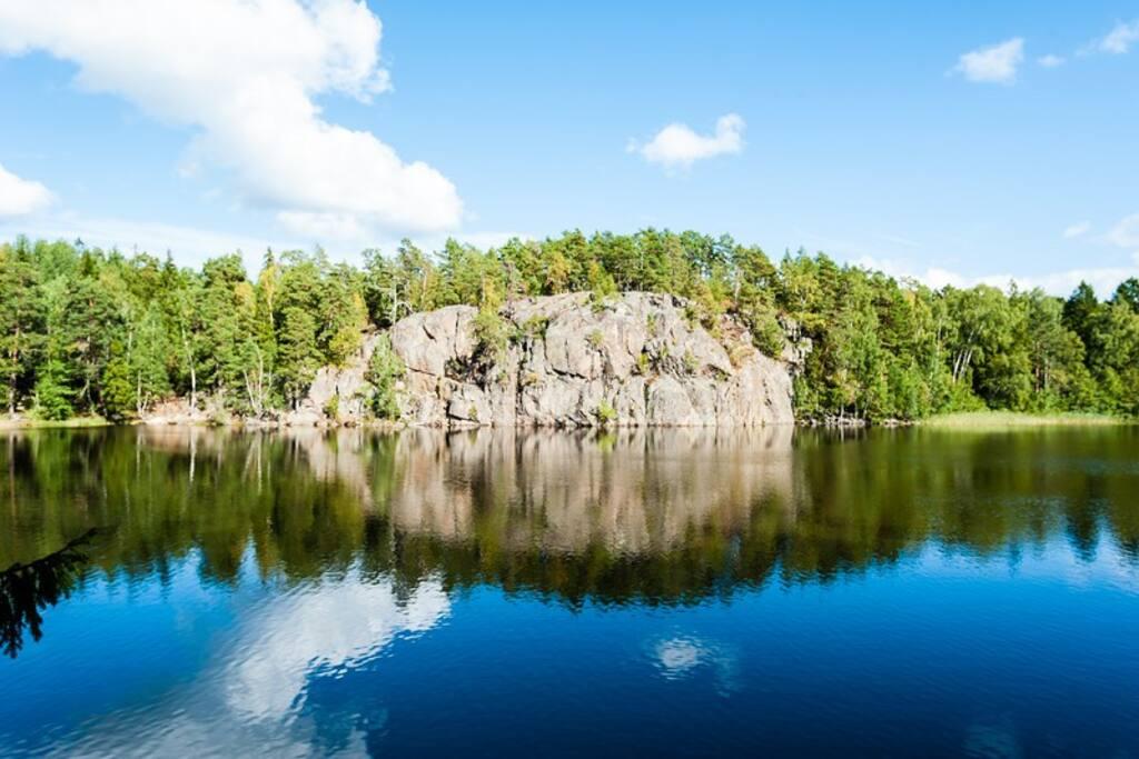 Lake in September 2016