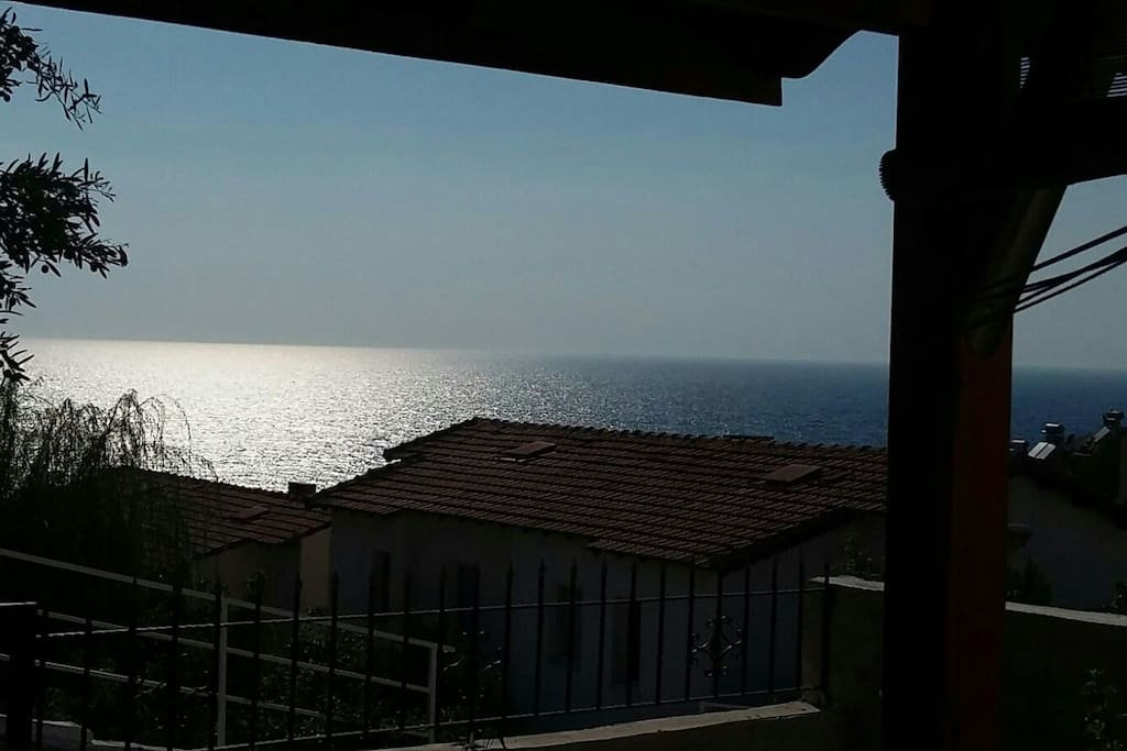 Sea view from home